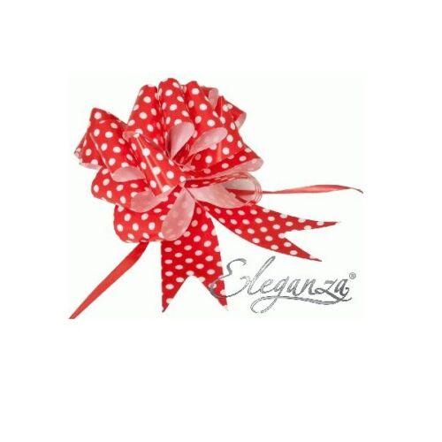 emballage cadeau 5 x 50mm à pois tirer arcs pour mariage Pew se termine décoration de voiture