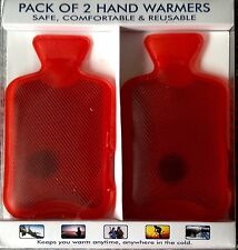 HAND WARMERS - Pack Of 2. -  Safe, Comfortable & Reusable- Brand New in Box
