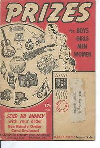 NP-025 Lancaster County Seed Co Premium Catalog 1940s-50s Hopalong Cassidy Hoppy