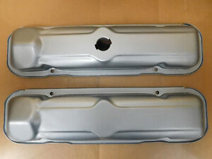 GM-Early-Penthouse-Pontiac-V8-Valve-Covers-Steel