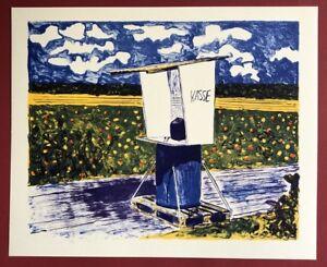 Stephan Craig, cassa, farblithographie, 2007, firmato a mano