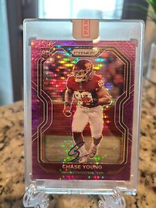 Chase Young Purple Pulsar Rookie Autograph. VERY RARE Fanatics. POP 1 Listed!