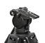 Professional-Heavy-Duty-DV-Video-Camera-Tripod-with-Fluid-Pan-Head-Kit-72-Inch miniatuur 3