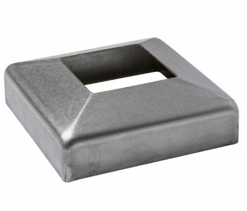 Wandrosette Bodenrosette 12x12-50x50 mm Blende Abschluss Blech 1mm