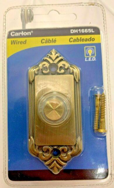 Carlon Gold Lighted Push-Button