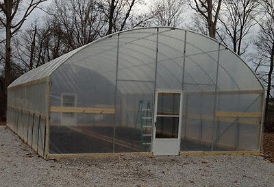 24 x 48 ft Greenhouse - High Sidewall - High Tunnel Kit - Cold Frame Package