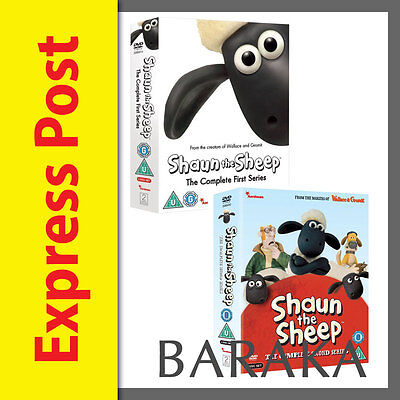 Shaun The Sheep The Complete First & Second Series Seaon 1 & 2 DVD Set New