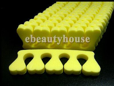 50 Soft Toe Finger Separator Nail Art Manicure Pedicure #030A