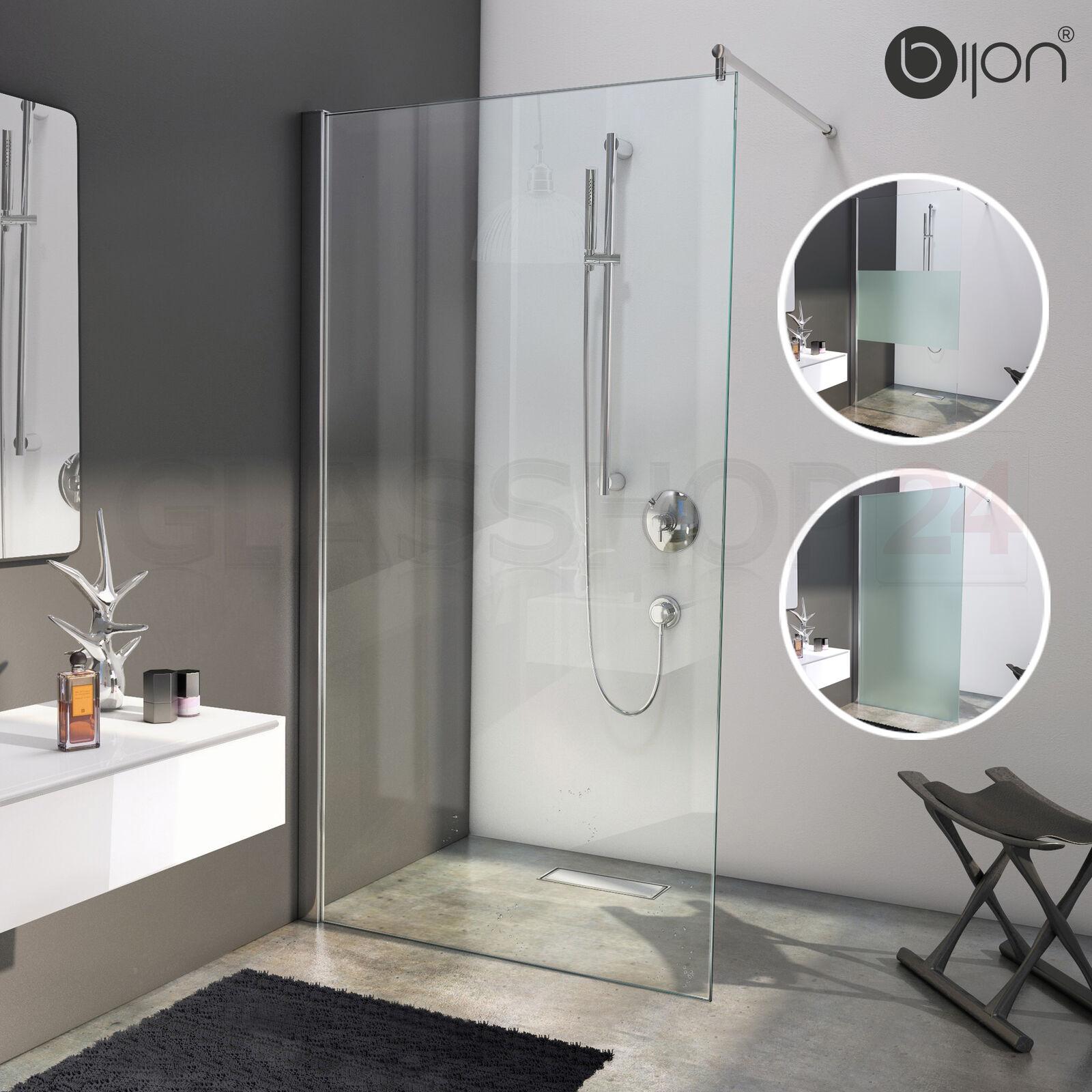 Design Duschwand Walk in Dusche mit Nanoeffekt   Duschtür Duschabtrennung Glas