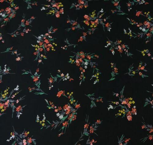 per metre Twill Rayon Fabric 100/% dress fabric womenswear /'Winter of 25/'