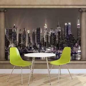 Wall Mural Photo Wallpaper Xxl New York City Skyline