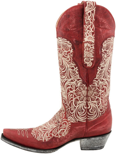 New in box Womens Old Gringo FEITA Red//Bone Boots STUNNING MSRP $ 600