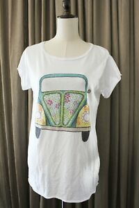 Flower Power Hippy T-Shirt 100/% Premium Cotton Woodstock Camper Peace /& Love