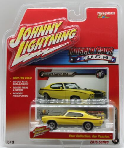 2016 Johnny Lightning Muscle Cars USA 1971 Buick GSX Scale 1:64