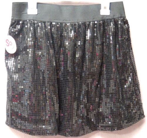 14 /& L BNWT SO Party Skirts Multi-Colors Polyester Girls/' Size M 10-12