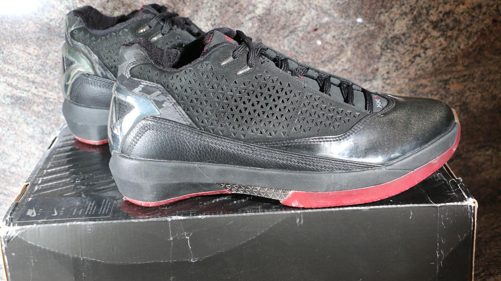 54cc67ca6 Air Jordan xx2 xx2 xx2 5   8 negro   varsity rojo blanco 316381 061 comodo