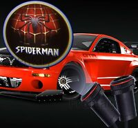 2x Led Car Door Welcome Laser Projector Spiderman Spider Man Ghost Shadow Light