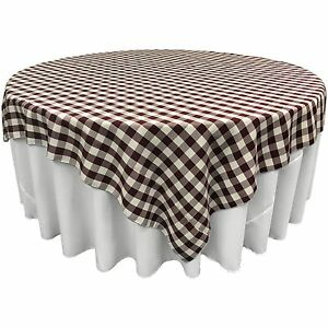 Gentil Details About LA Linen Square Checkered Tablecloth 84 By 84 Inch. Made In  USA