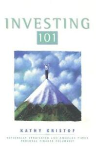 Bloomberg-Investing-101-61-by-Kathy-Kristof-2001-Paperback