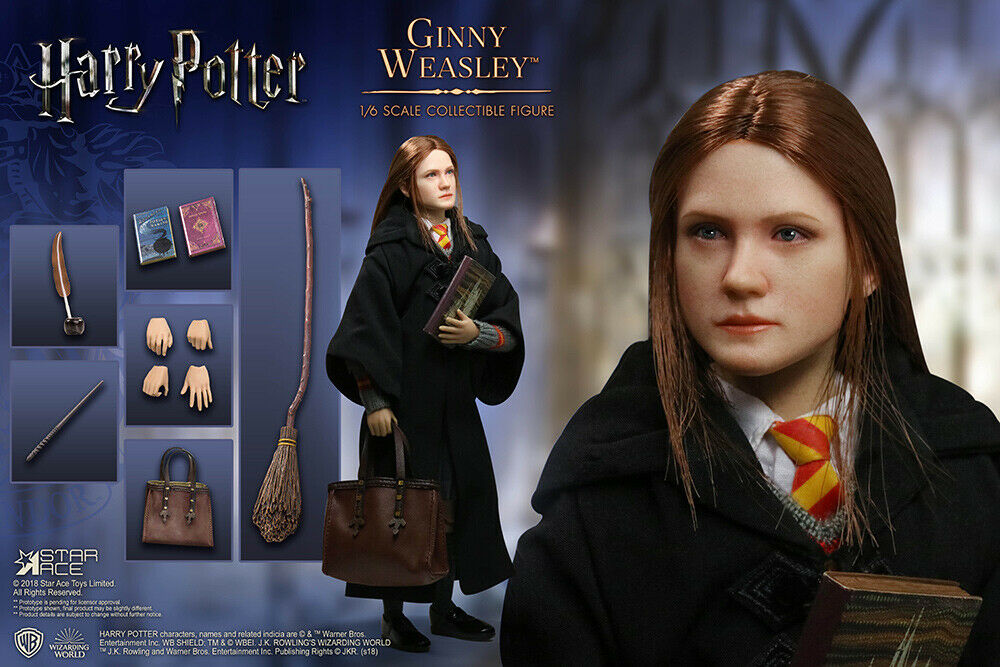 Harry Potter Ginny Weasley 1 6 Action Figure STAR ACE