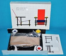 gerrit rietveld red and blue chair model kit scale 1:6 miniature 1983 design