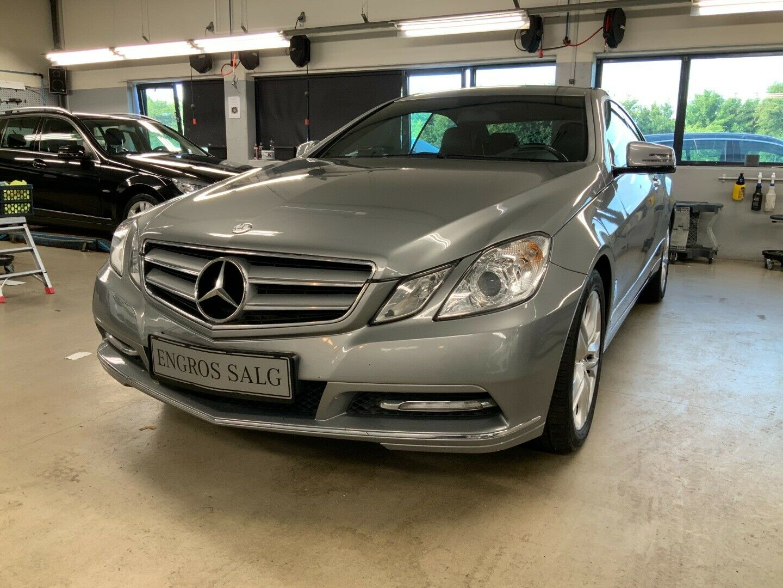 Mercedes-Benz E220 2,2 CDi Coupé aut. BE