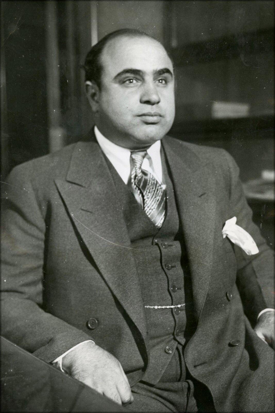 Plakat, Viele Größen; Al Capone in 1930