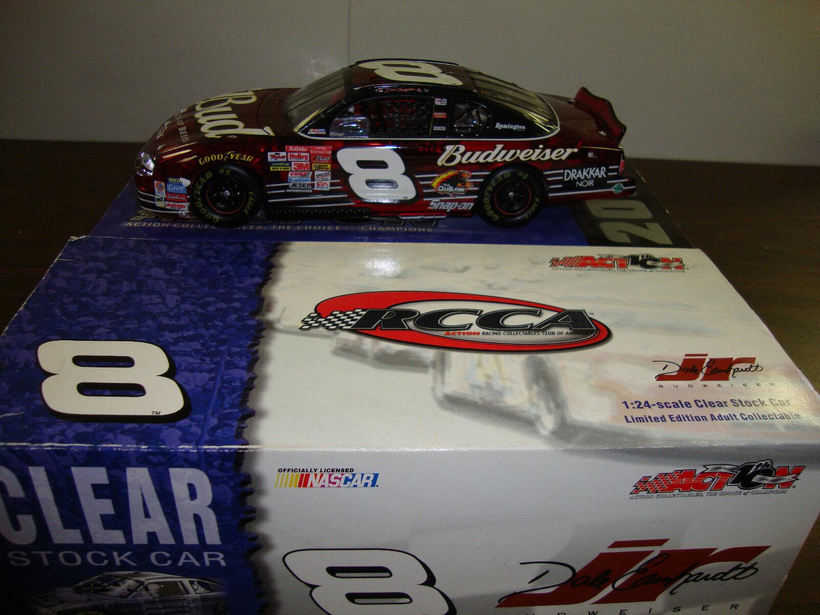 Dale Earnhardt Jr ---  8 Budweiser clair ---  1 24 Scale Diecast --- 1 7008 --- 2002  économiser jusqu'à 80%