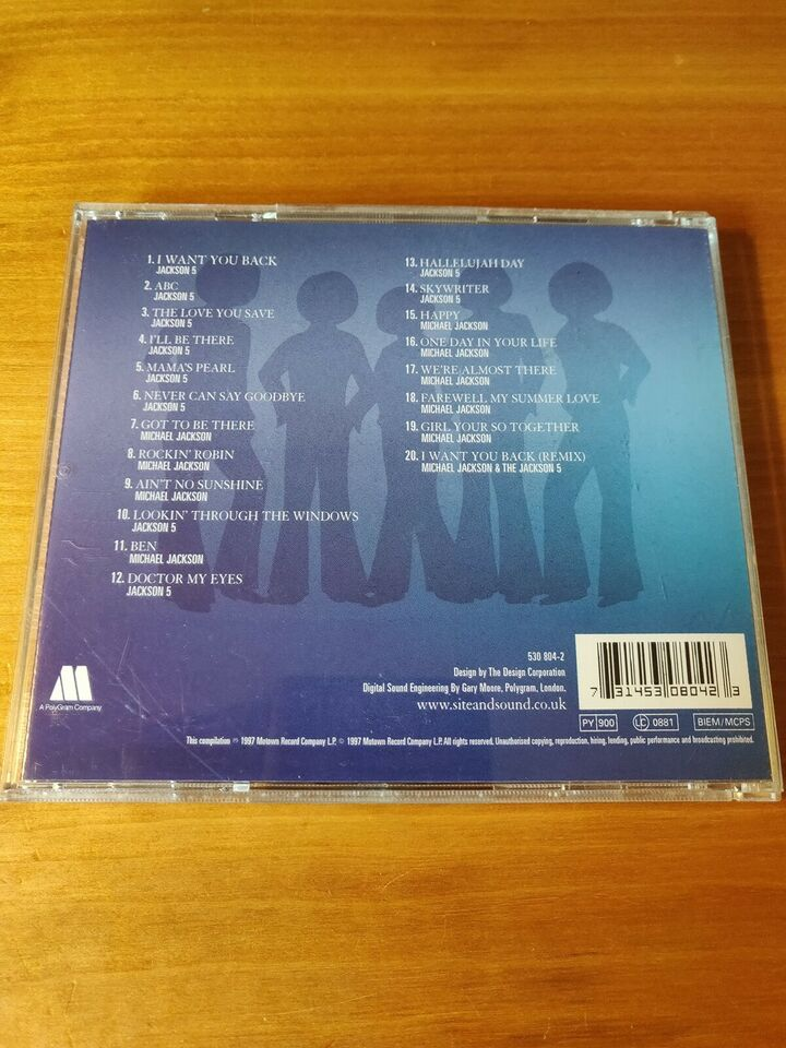 Michael Jackson & Jackson 5ive: The Best of-The Motown
