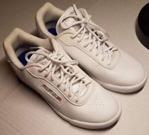 Details zu Reebok Classic Women's Size 6.5 Memorytech 2.0White Leather Athletic Shoes 1Y352