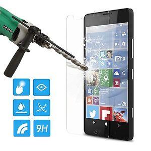 VITRE-DE-PROTECTION-EN-VERRE-TREMPE-FILM-ECRAN-POUR-Microsoft-Nokia-Series