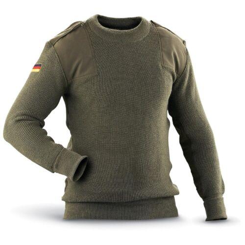 Genuine Issue German Commando Sweater Olive Drab New Dead Stock