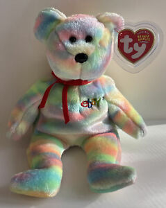 Ty Beanie Baby ~BIDDER~ The Bear Exclusive For eBay & Ty Credit Card 2003