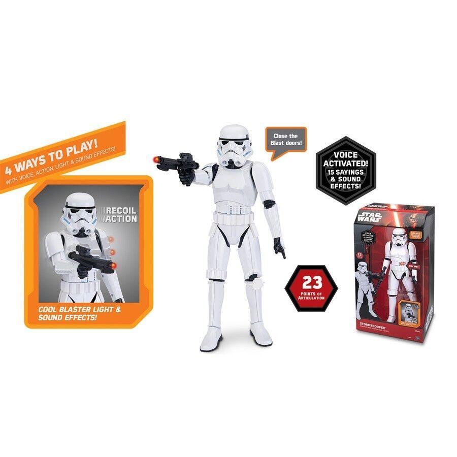 Star Wars Stormtrooper  Animatronic Interactive Figure 50cm