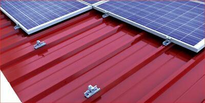 Heimwerker Solarenergie Original Solarmodul Befestigung Light Blech Dach Pv Halterung Montage 28-52mm Modul Attractive And Durable