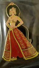 Disney Inspired Jasmine From Aladdin Red Designer Princess Fantasy Pin LE 50