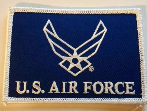 UNITED STATES  AIR FORCE  PATCH-FLAG LOGO II 2-1/2 X 3-1/2 Patches Militaria