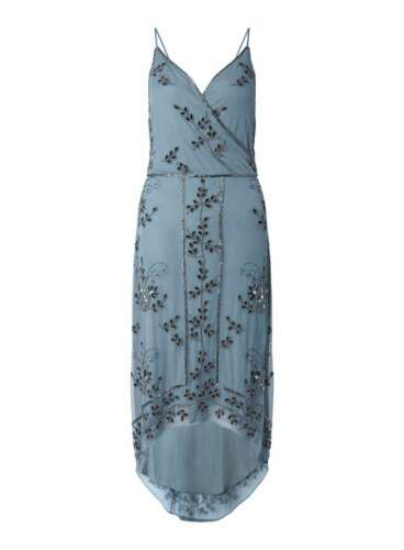 10 Premium Selfridge 38 150 Wrap Rrp Midi Size Dress Impreziosito £ Miss Us 6 gUWnqTn