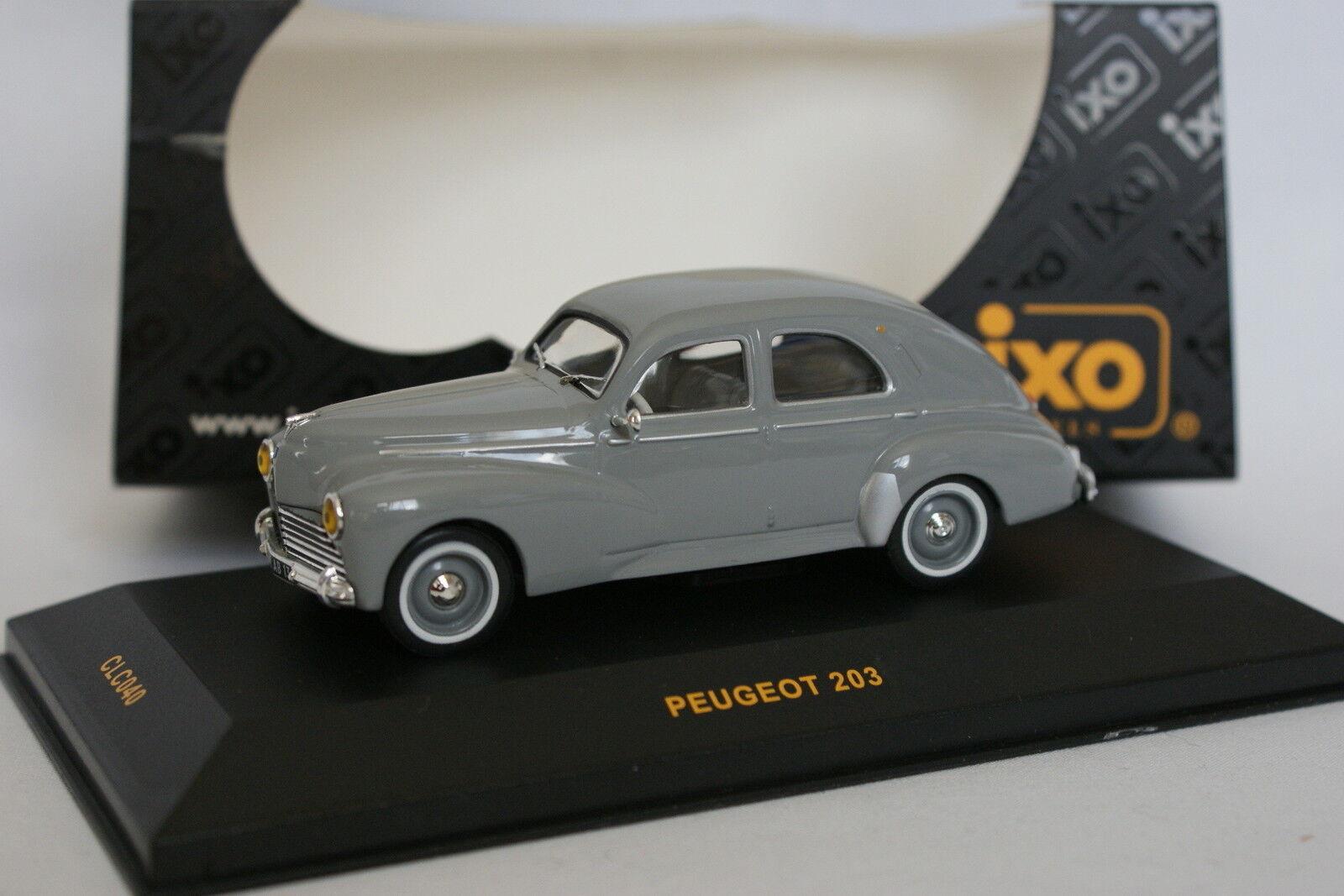 Ixo 1 43 - Peugeot 203 Grey