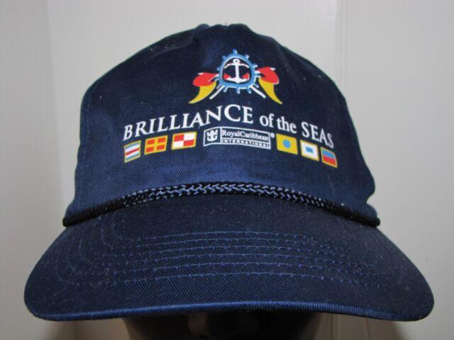 Royal Caribbean International Souvenir Baseball Cap Navy Adjustable Fit Cruise