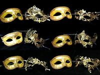 Masquerade Mask Set For Couple School Prom Birthday Wedding Anniversary Party