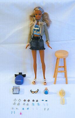 Volitivo Barbie So Excellent Earrings Cali Girl Barbie B5766 Doll Poupée Alta Qualità E Poco Costoso