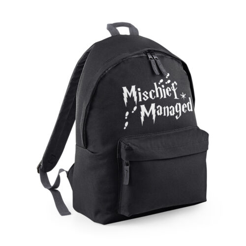 Harry Wizard Marauder/'s Map Fashion School Bag Gift Mischief Managed Backpack