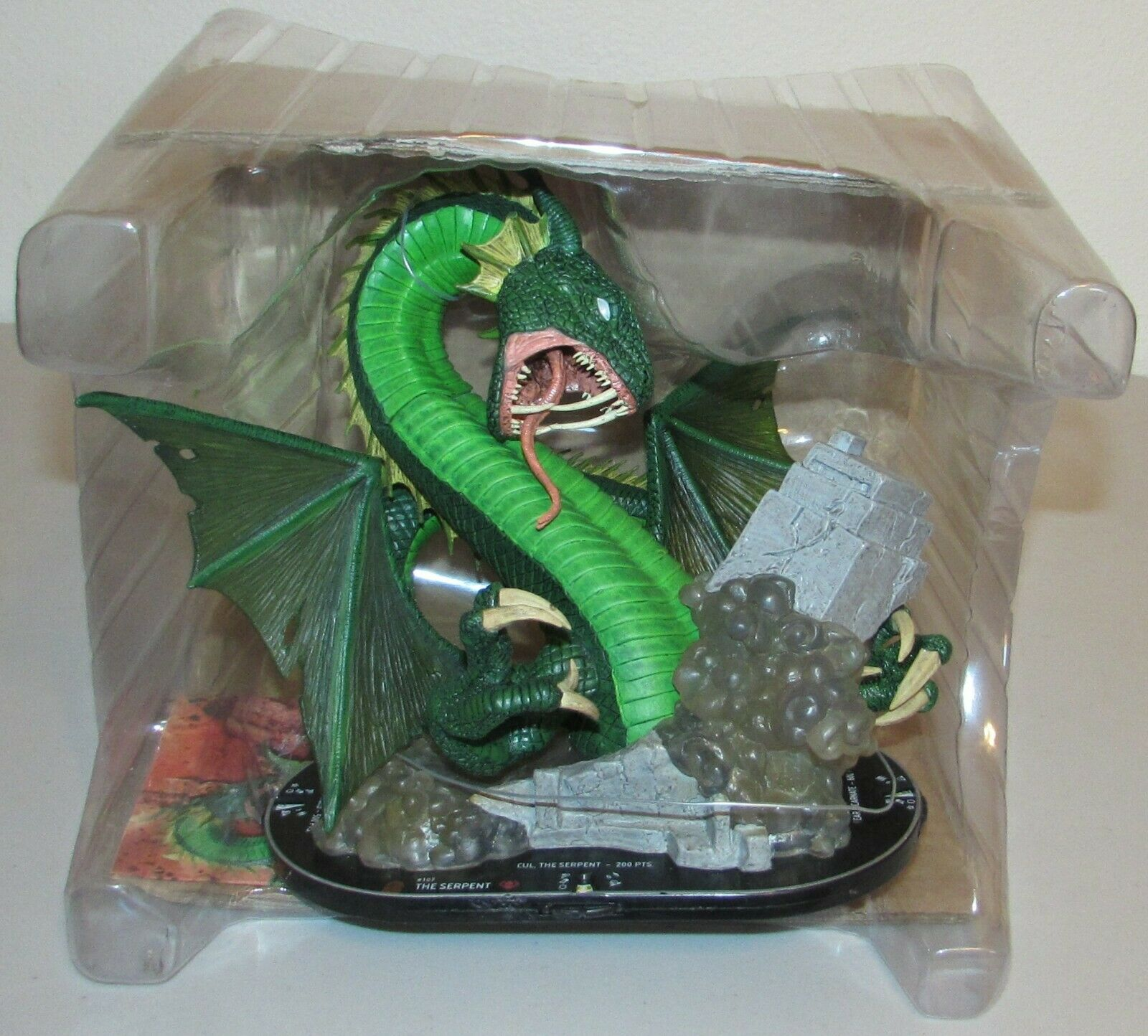 The Serpent  107 Fear Itself Grand Premio Marvel Heroclix Op Evento Grandes