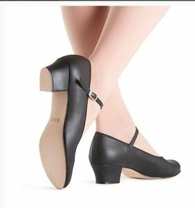 NEW Bloch S0320L Showstopper On Stage Black Ladies sizes Character Shoe leather