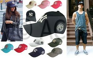 NY New York Yankees Cap Mens Womens Unisex Hats Trucker Hat ... ca863db2876