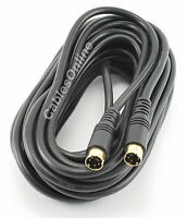 25' S-video Minidin-4 Male To Male Video Cable, Vh-025