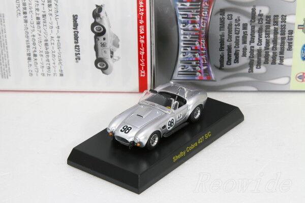 Kyosho 1 64 Shelby Cobra 427 S C C C Karuwaza Limited USA SPORTS CAR 2010 2fe2bf