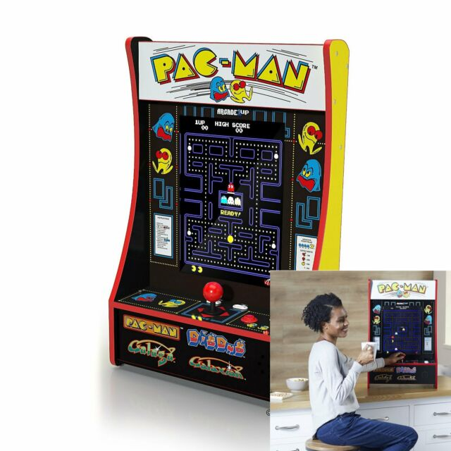 "**LIMITED EDITION** Arcade1Up 16.7"" LCD Game Machine, 4 Games including Pacman"