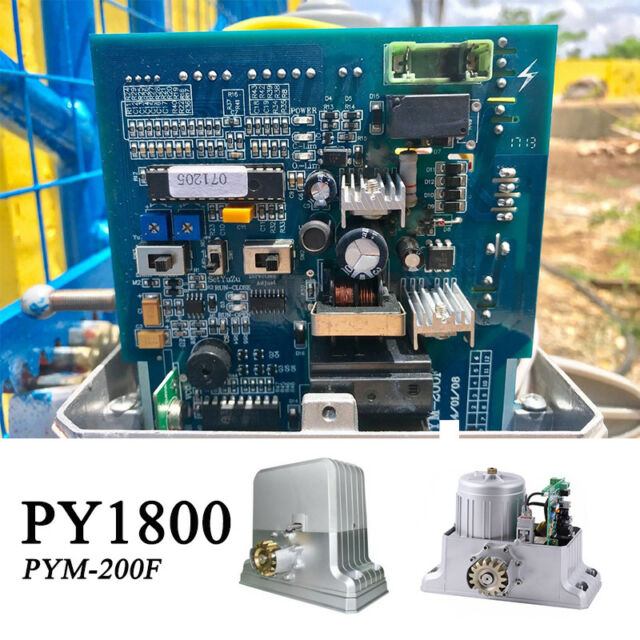 Circuit Control Board PCB PYM-200F PYM-200E for Sliding Gate Operator on